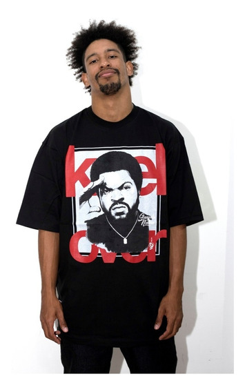 Remera Hombre Manga Corta Keel Over Gangsta Nation