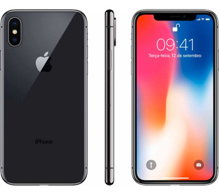 Celular iPhone X 256 Gb Cinza Espacial