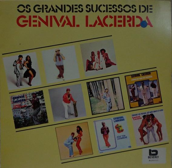 Lp Vinil-os Grandes Sucessos De Genival Lacerda-1991-beverly