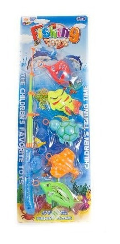 Set De Pesca En Blister Lyon Toys