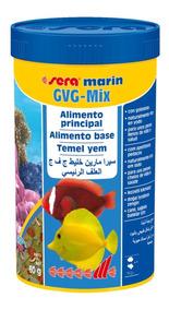 Ração Sera Gvg Mix 60g Para Marinhos Com Guloseimas Val08/21