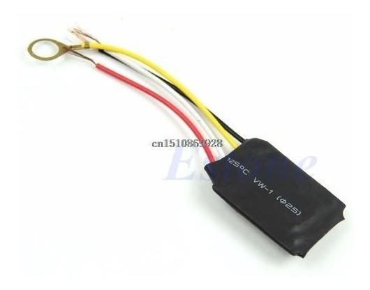 Interruptor Sensor 3 Toques Para Abajur Lâmpadas Até 60w