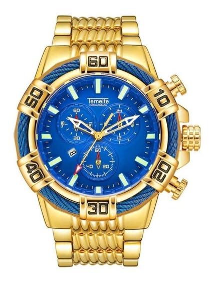 Relógiotemeite Original Big Dial Pronta Entrega Frete Gratis