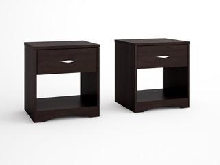 Mueble Buro Con 1 Cajon, Ideal Para Recamara Y Sala Nu415544