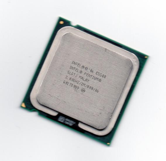 Processador Intel Dual Core E5500 2.80ghz Lga 775 + Frete