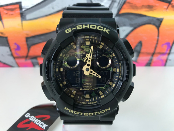 Relógio Casio Gshock Ga100cf1a9 Original Estados Unidos