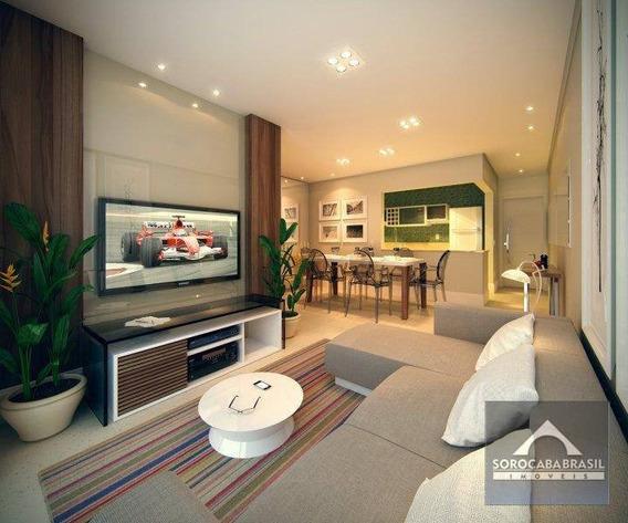 Apartamento Com 3 Dormitórios À Venda, 89 M² Por R$ 488.000,00 - Winner Residencial - Sorocaba/sp - Ap0134