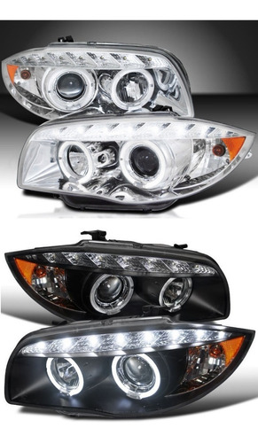 Farolas Led Drl Bmw Serie 1 2007-13