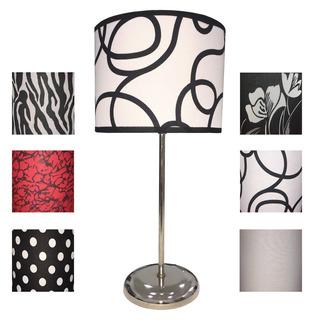 Velador Lámpara Con Pantalla Diseño Moderno Berlin