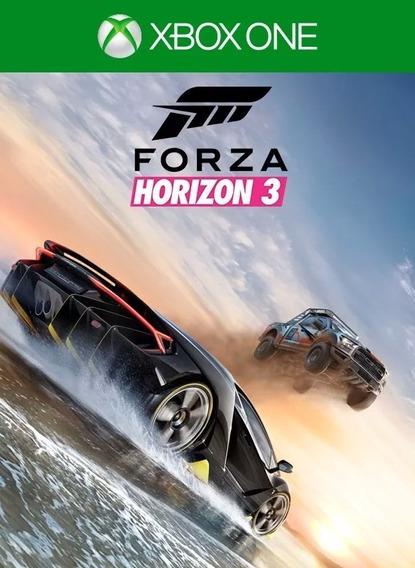 Forza Horizon 3 - Xbox One E Windows 10 - Codigo 25 Digitos