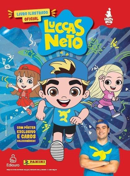 Álbum De Figurinhas Luccas Neto - Capa Dura - Ilustrado Com