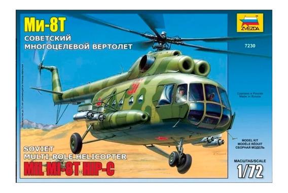 Helicoptero Zvezda P/armar Mi 8t Hip C 1/72 Kit 7230