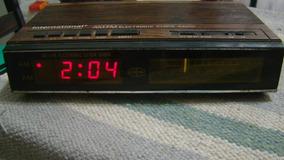 Rádio Relógio Internatioal Ecr92 Ver Descrição