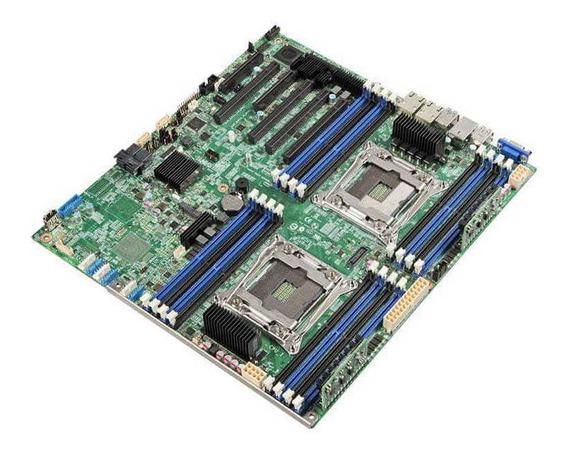 Placa Mae Servidor Intel Dbs2600cw2r Dual Xeon E5-2600v3/v4