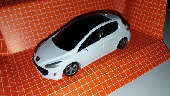Autito En Escala 1.43 Peugeot 308, Bl