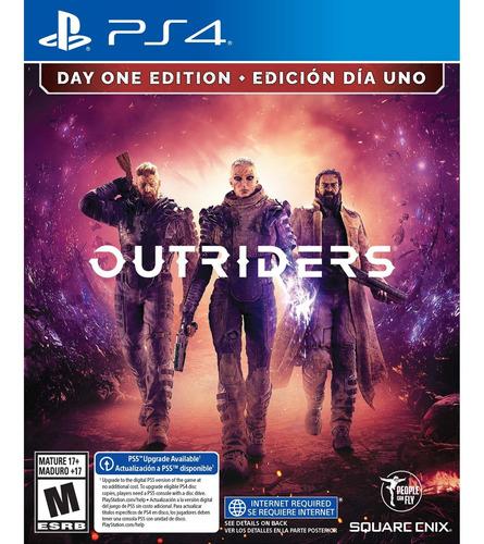 Imagen 1 de 9 de Outriders Day One Edition Formato Físico Ps4 Original