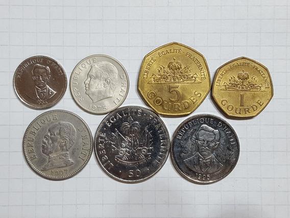 Haiti Colección 7 Monedas