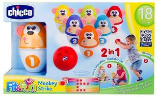 Juego De Boliche Monkey Strike
