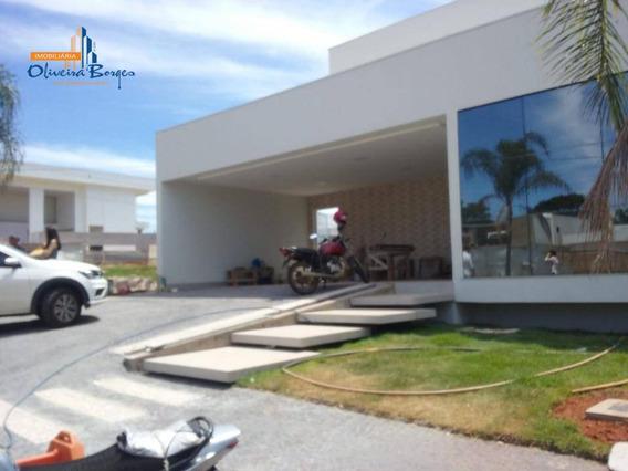 Casa Com 4 Dormitórios À Venda, 295 M² Por R$ 1.300.000 - Residencial Anaville - Anápolis/go - Ca1214
