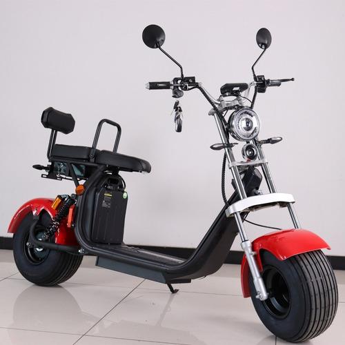Imagen 1 de 8 de Motos Electricas Citycoco Harley Scooter Motor 2000w 50km/h