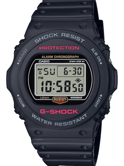 Relógio Masculino Casio G-shock Digital Preto Original