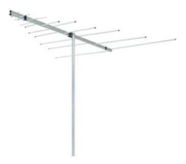 Antena Externa Aquario Lvu-12 Vhf/ Uhf/ Fm 12 Elementos