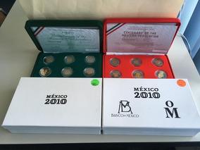 2 Set De Monedas 5 Pesos Acabado Proof 2019