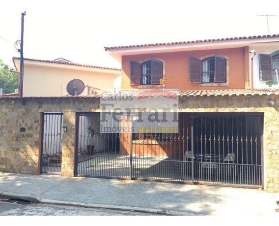 Belíssimo Sobrado Com Entrada Lateral - Tremembé 3 Dormitórios - R$ 640.000,00 - Cf15796
