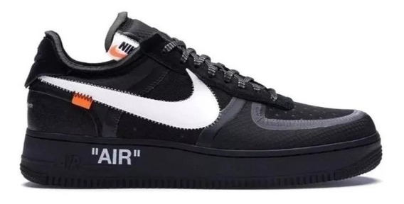 Tênis Nike Air 1 Force Off White Lacre Cores Diversas + Cadarços Coloridos