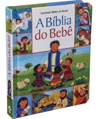 A Bíblia Do Bebê Com Capa Almofada