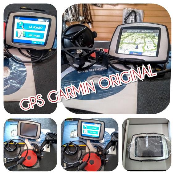 Gps Garmin Original Con Base, Cargador, Cd Y Manual