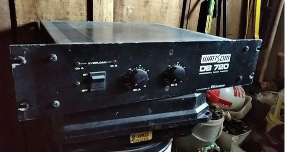 Amplificador Potencia Profissional Wattsom Db720