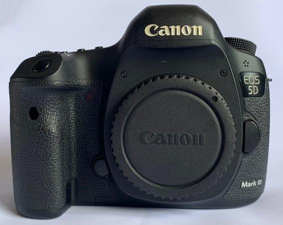 Canon 5d Mark Iii Pouco Uso 25k Somente O Corpo