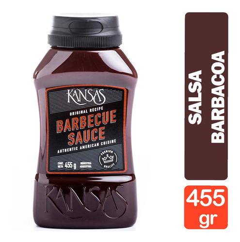 Salsa Barbacoa Kansas 455g - Salsa Barbecue Bbq Premium