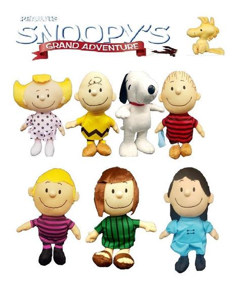 7 Pelúcias Turma Do Snoopy E Charlie Brow Escolha O Seu