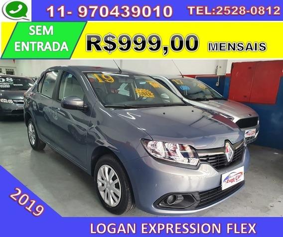 Renault Logan Expression Flex - Com Multimídia