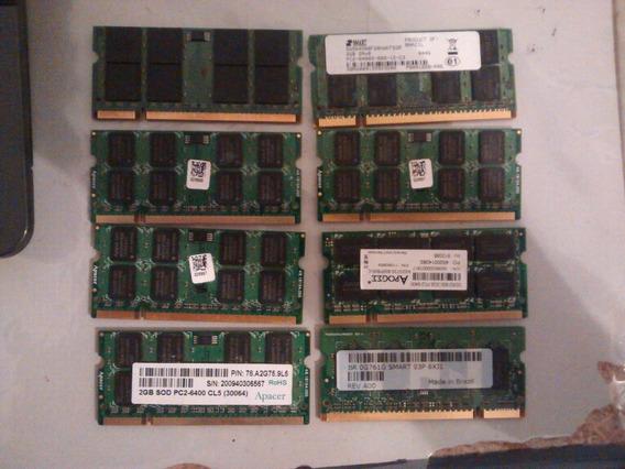 Kt 8 Und. Memoria Ram Ddr2 2 E 1 Gb Notebook