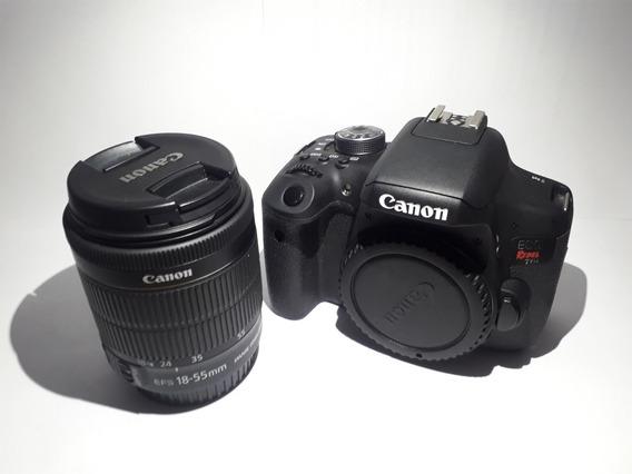 Canon T61+cartão 32g+carregador+lente 18-55mm+case