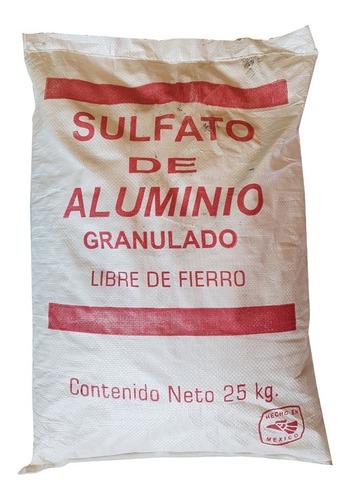 Imagen 1 de 1 de Sulfato De Aluminio 25 Kg Clarificador De Agua