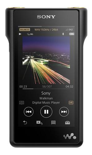Reproductor Sony Walkman Hi-res Audio De 128gb - Nw-wm1a