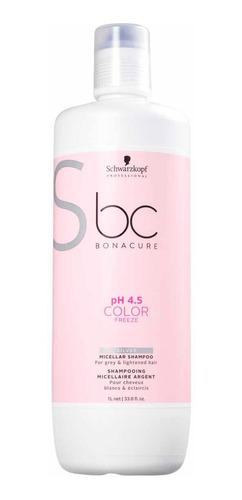 Schwarzkopf Bonacure  Shampoo 1l Silver Color Freeze