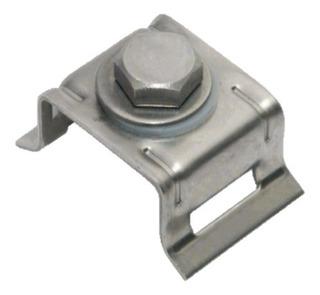Soporte Metálico Sujetación De Placas Fechometal