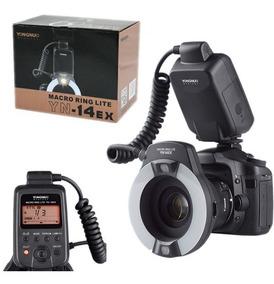Flash Circular Macro Yn-14ex Ttl Canon Pronta Entrega