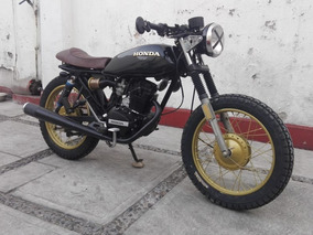 Increible Cafe Racer Honda 125 100% Customizada