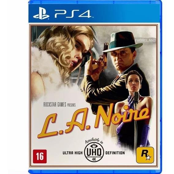 La Noire - Midia Fisica Original Lacrado - Ps4