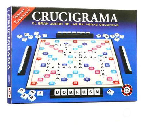 Imagen 1 de 3 de Crucigrama El Gran Juego De Las Palabras Cruzadas Ruibal