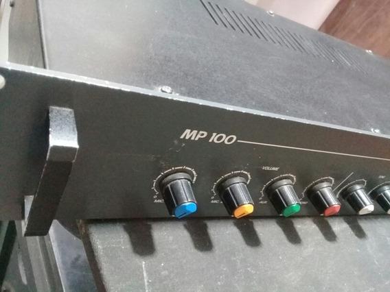 Mixer Amplificador De Potência Profissional Staner Mp100