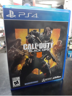 Call Of Duty Black Ops 4 Formato Físico Ps4