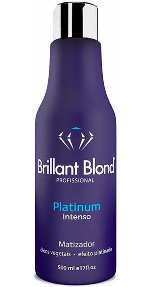 Matizador Platinum Máscara Brillant Blond 500ml