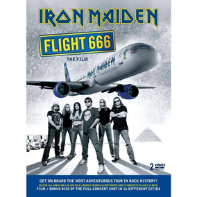 Dvd Lacrado Iron Maiden Flight 666 Original Soundtrack Duplo